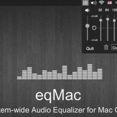 Eqmac L'equalizzatore audio per Mac